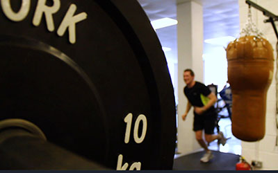 Cross Training at the Gym - Video for Websites